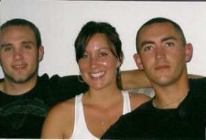 Daniel, Kristen, and David